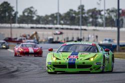 #57 Krohn Racing Ferrari F458 Italia: Tracy Krohn, Nic Jonsson, Andrea Bertolini, Peter Dumbreck