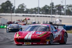 #63 Scuderia Corsa Ferrari 458 Italia: Alessandro Balzan, Jeff Westphal, Toni Vilander, Lorenzo Case