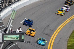#13 Rum Bum Racing Porsche 997: Matt Plumb, Nick Longhi, Gianluis Bacardi ve #15 Multimatic Motorspo