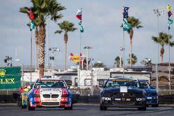 #46 Fall-Line Motorsports BMW M3: Trent Hindman, John Edwards, #158 Multimatic Motorsports Mustang B