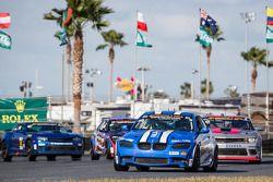 #48 Fall-Line Motorsports BMW M3: Shelby Blackstock, Ashley Freiberg