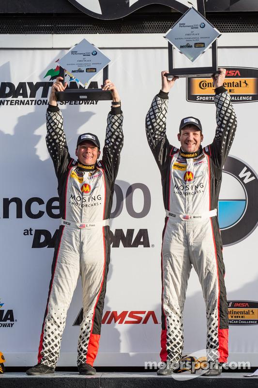 ST podium: vencedores Jeff Mosing e Eric Foss