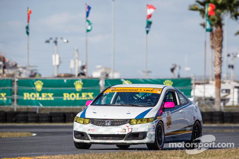 #20 Next Generation Motorsports 本田 思域 Si: Squeak Kennedy, Bobby Kennedy