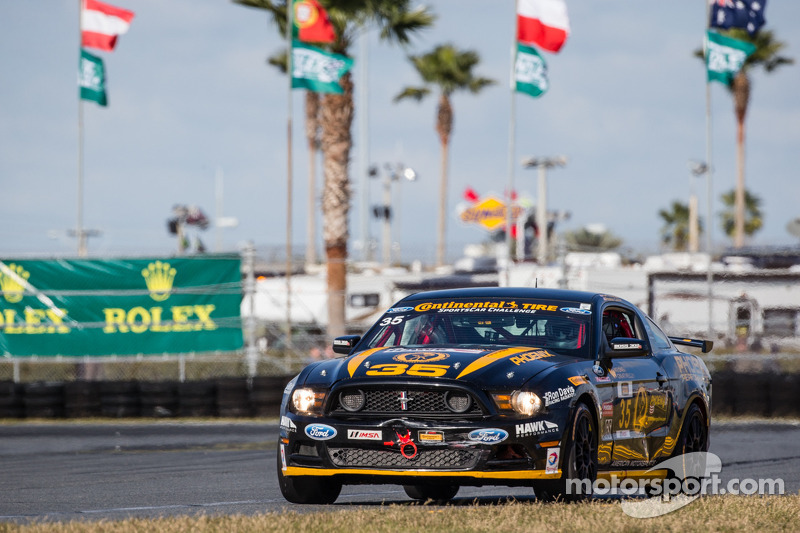 #35 Phoenix American Motorsports Mustang Boss 302 R: Preston Calvert