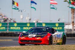 Ricardo Perez su Ferrari di Houston