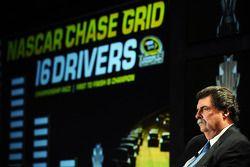 NASCAR-president Mike Helton