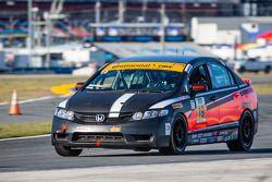 #19 PRP Motorsports / Next Generation M/S Honda Civic Si: Sergio Musacchio, Richard Picut