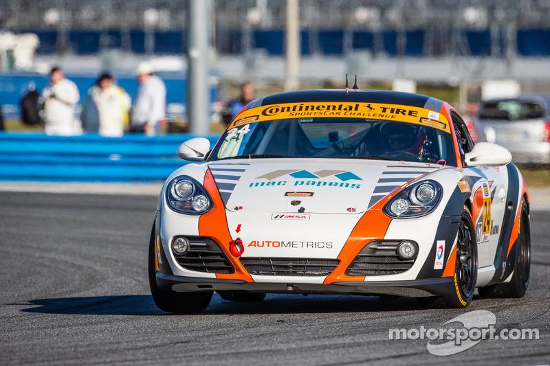 #24 Autometrics Motorsports 保时捷 卡宴: 科里·弗里德曼, 大卫·鲍姆