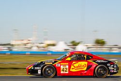 #42 Team Sahlen Porsche Cayman: Joe Sahlen, Wayne Nonnamaker, Joe Nonnamaker, Will Nonnamaker