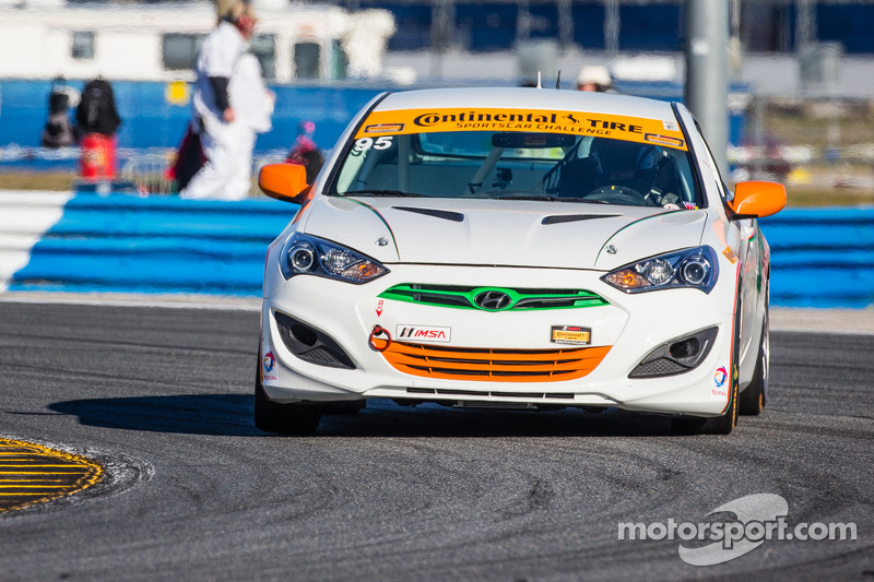 #95 Irish Mike's Racing Hyundai Genesis
