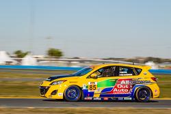 #85 All Out Auto Motorsports Mazda Speed 3: Michael Head, John De Barros