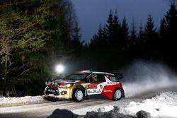 Mads Ostberg y Jonas Andersson, Citroën DS3 WRC, Citroën Total Abu Dhabi World Rally Team