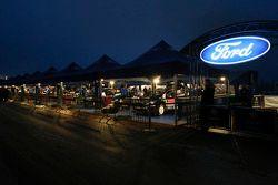 Zona de M-Sport Ford team
