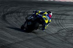 Randy de Puniet, pilota Suzuki di MotoGP
