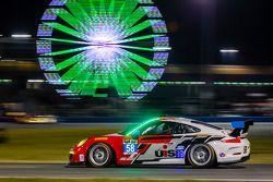 #58 Snow Racing Porsche 911 GT America Porsche: Madison Snow, Jan Heylen, Marco Seefried