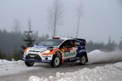 Michal Solowow et Maciek Baran, Ford Fiesta RS WRC