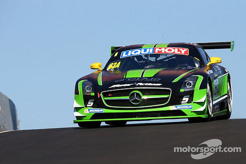 #63 Erebus Motorsport 梅赛德斯 SLS AMG GT3: 威尔·戴维森, 杰克·勒布洛克, 格里格·克瑞克