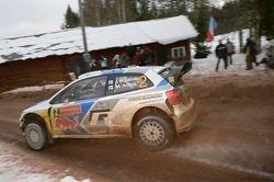 #2 Volkswagen Polo R WRC: Jari-Matti Latvala, Miikka Anttila