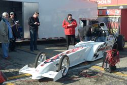 Two seater super comp car