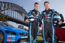 Robert Dahlgren et Scott McLaughlin, Polestar Racing Volvo S60