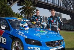 Robert Dahlgren e Scott McLaughlin, Polestar Racing Volvo S60