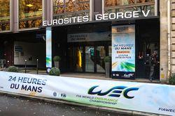 Conférence de presse ACO à Paris