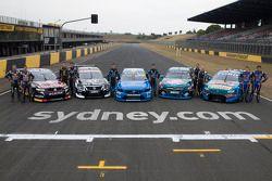Holden, Nissan, Volvo, Mercedes ve Ford ve pilotları