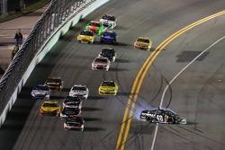 Jimmie Johnson, Hendrick Motorsports Chevrolet spins