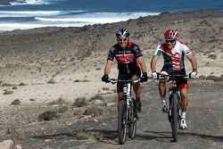 Tom Kristensen et Timo Scheider