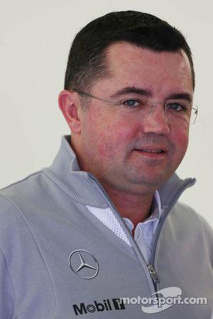 Eric Boullier, McLaren Director de carrera