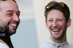 Gérard Lopez avec Romain Grosjean