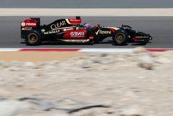 罗曼·格罗斯让, 路特斯F1车队