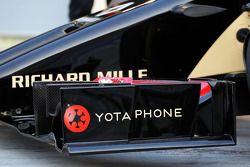 路特斯F1赛车E22官方发布 - 前翼细节