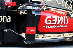 路特斯F1赛车E22官方发布 - 侧面细节