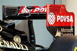 路特斯F1赛车E22官方发布 - 尾翼细节