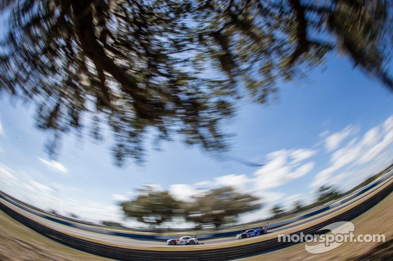 #56 宝马 Team RLL 宝马 Z4 GTE: 安迪·普里奥, 迪克·沃尔纳, #60 Michael Shank Racing 和 Curb/Agajanian Riley DP 福特 EcoBoost: 约翰·皮尤, 奥斯瓦尔多·内格里, 贾斯丁·威尔森
