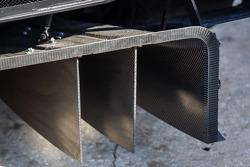 Rear diffuser on the #90 Spirit of Daytona Corvette DP