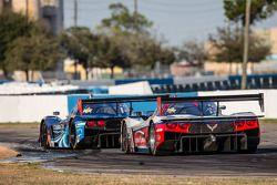 #60 Michael Shank Racing 和 Curb/Agajanian Riley DP 福特 EcoBoost: 约翰·皮尤, 奥斯瓦尔多·内格里, 贾斯丁·威尔森, #5 Action