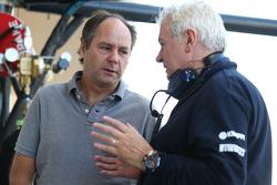 Gerhard Berger avec Pat Symonds