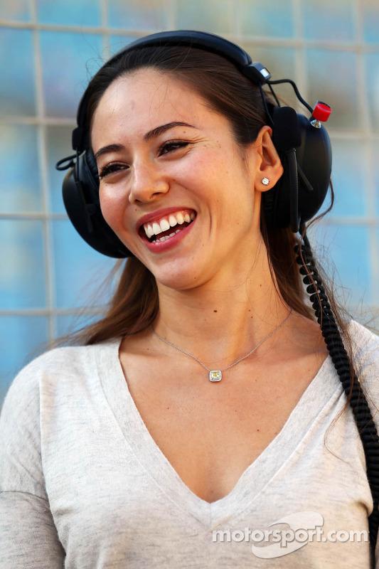 Jessica Michibata, Freundin von Jenson Button, McLaren