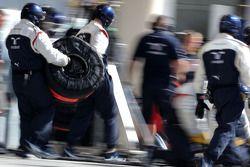 威廉姆斯F1车队机械师