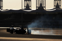 Esteban Gutierrez, Sauber C33 bloquea los frenos