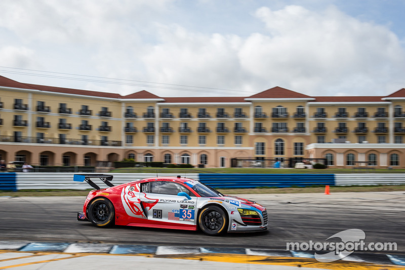 #35 Flying Lizard Motorsports Audi R8 LMS: Seth Neiman, Dion von Moltke, Alessandro Latif, Filipe Al