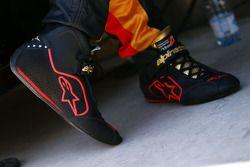 Alpinestars-Rennschuhe für Pastor Maldonado, Lotus F1 Team