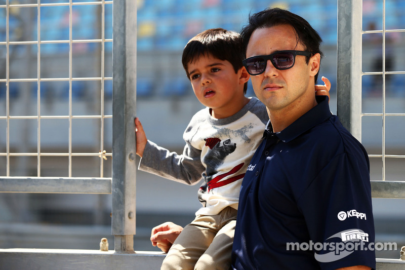 Felipe Massa, Williams ve oğlu Felipinho