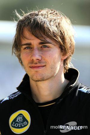 Charles Pic, troisième pilote, Lotus F1 Team