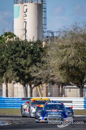 #60 Michael Shank Racing with Curb/Agajanian Riley DP Ford EcoBoost: John Pew, Oswaldo Negri, Justin