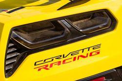 # 3 Corvette Racing Chevrolet Corvette Detalle de la luz trasera