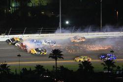 Wreck in turn 3