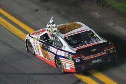Dale Earnhardt Jr., Hendrick Motorsports Chevrolet celebrates